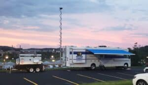Indiana Count Mobile Command Post