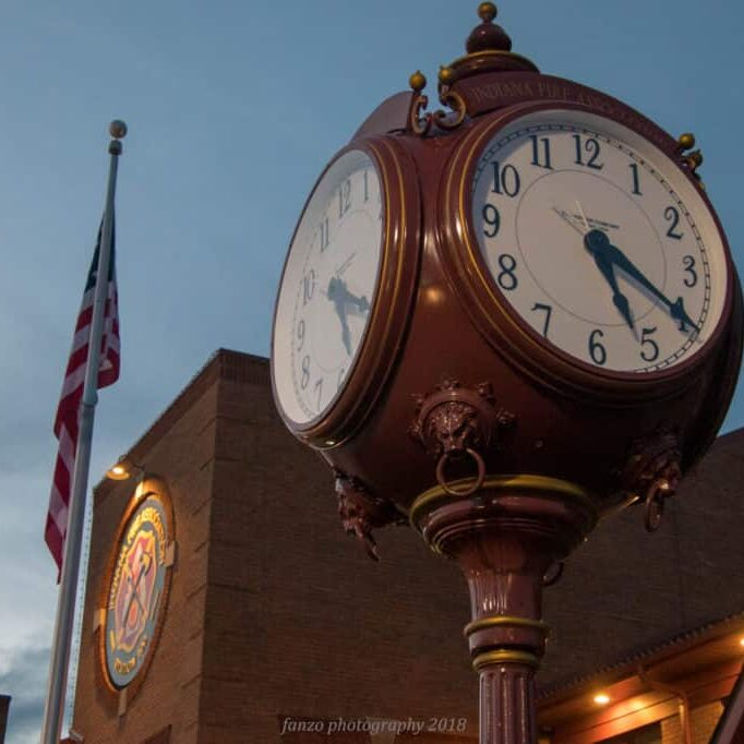 Indiana County Clock