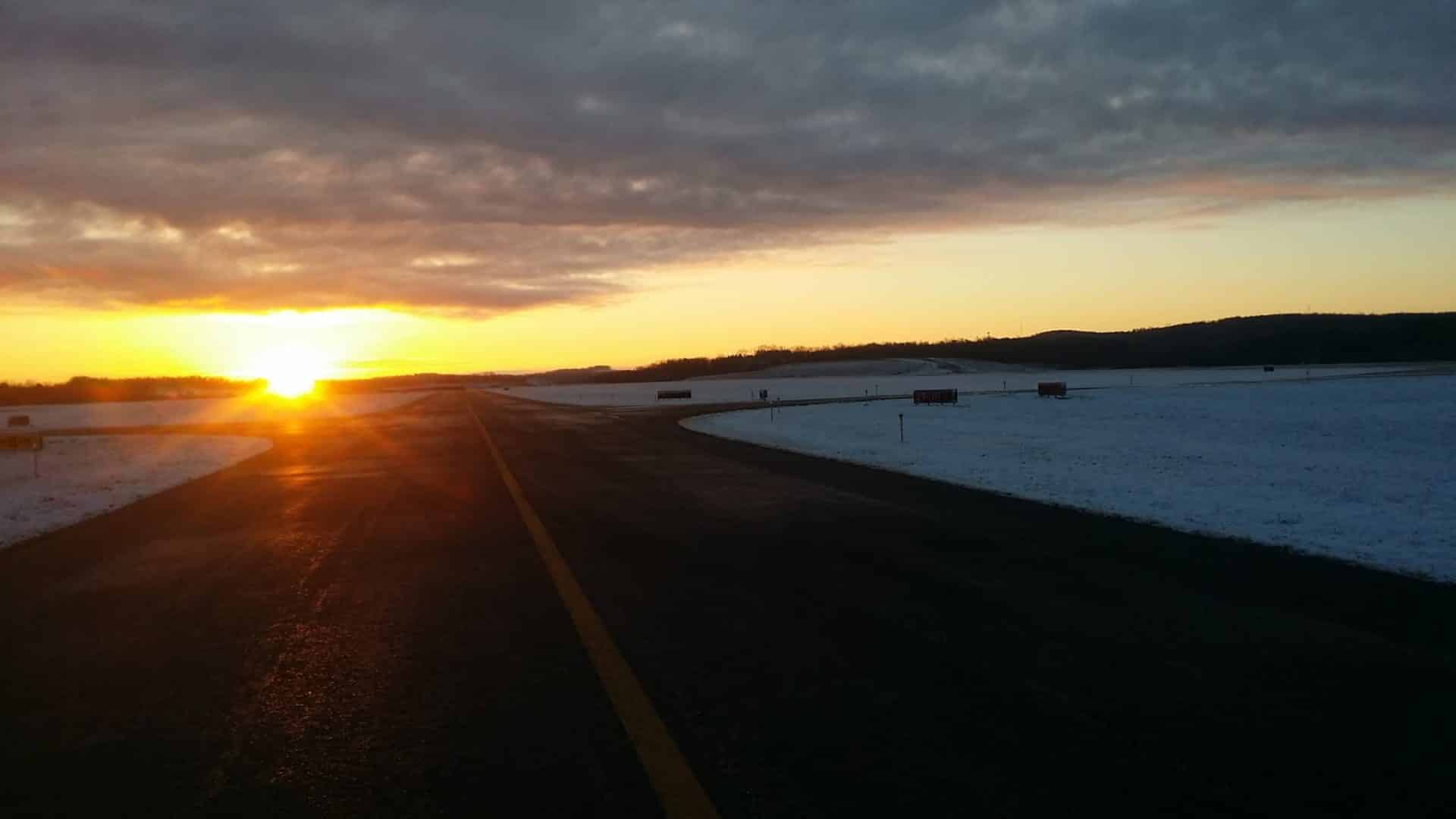 Indiana County Jimmy Stewart Airport runway PA